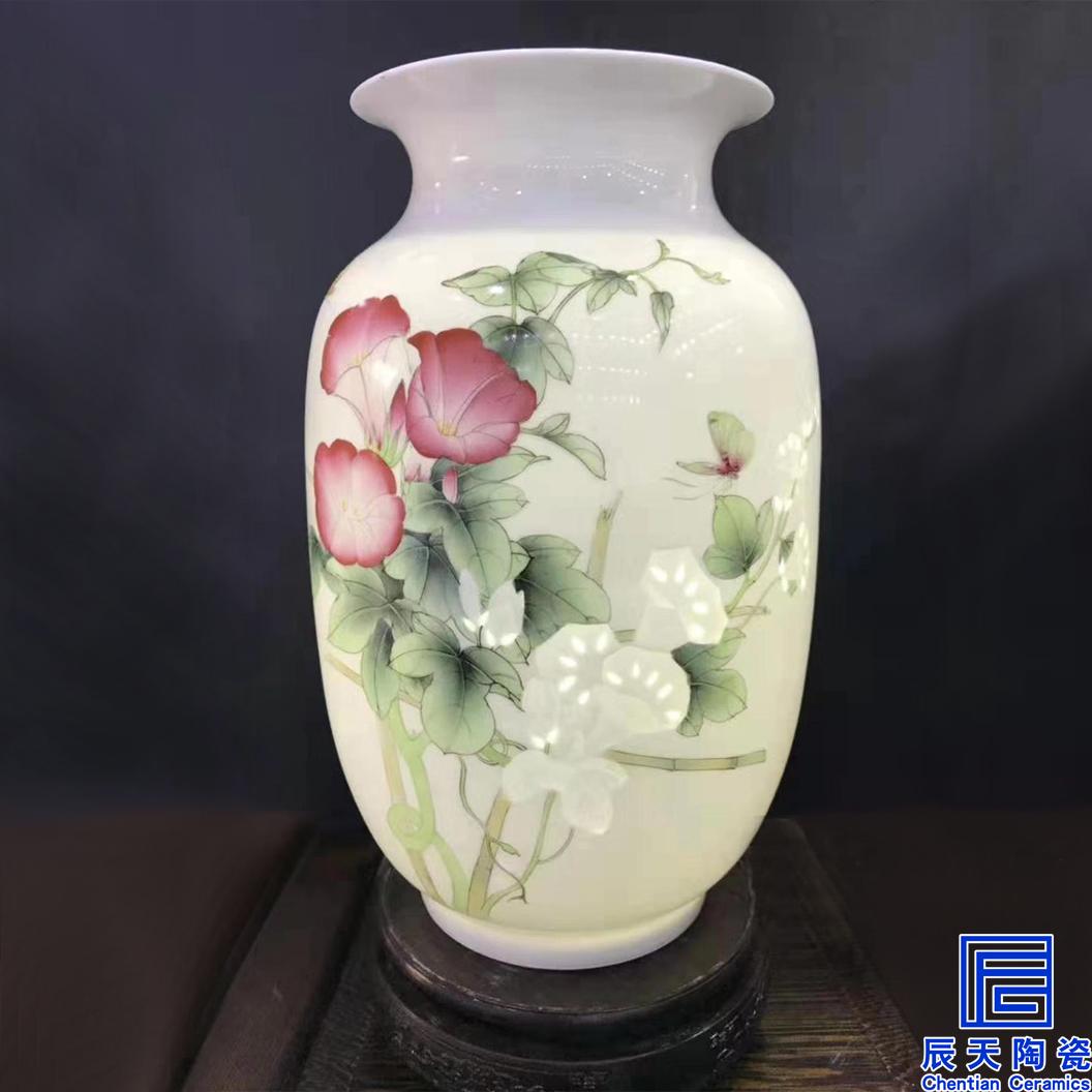 半刀泥花瓶